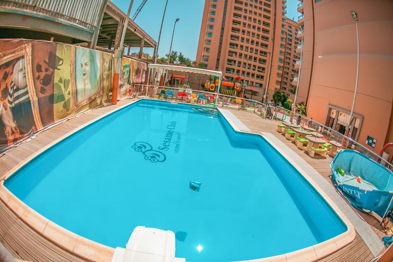 Sesame Club Swimming Pool No Link
