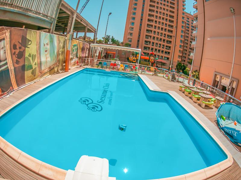 Sesame club citystars branch for Stars swimming pool tacloban city